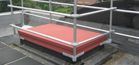 Roof Hatch Railings