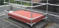 Roof Hatch Railings