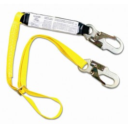 Shock Absorbing Adjustable Lanyard