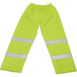 High Visibility Waterproof Pant, Class 1 - Personal Protection Equipment - PPE