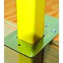 Metal Gusset Guardrail System