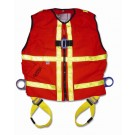 Hi-Vis Construction Tux Vest Harness