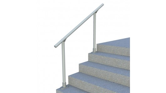 Surface l160 surface mount railing simplified building for Main courante escalier exterieur