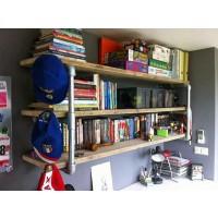 Wall Mounted Pipe Shelf