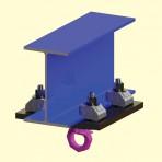 Adjustable Rigging Clamp - Beam