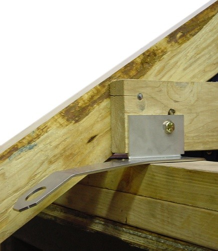 Wa Anchor For Wood Frame Roofing Residential Roof
