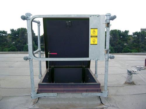 Keehatch Rhsr Ss Standard System Roof Hatch Railings