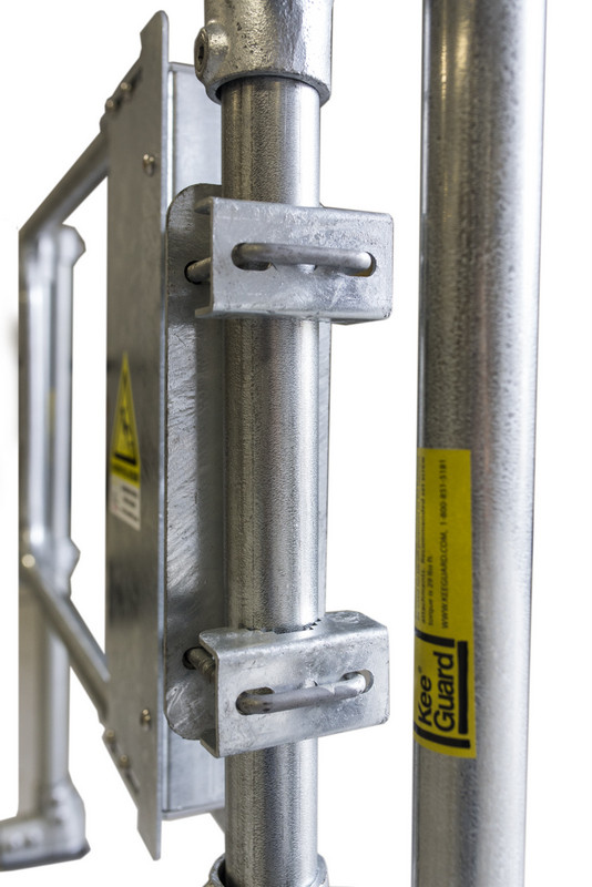 Industrial Safety Gate Osha Compliant Self Closing