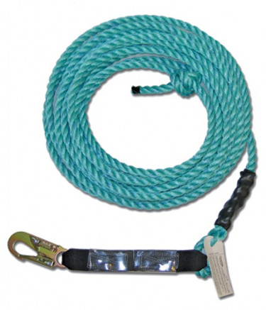 "Poly Steel Rope Standard 5/8"" Ropes w/ Snaphook end"