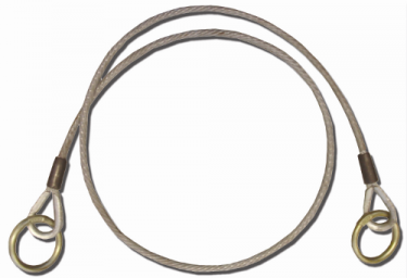 Vinyl-Coated Galvanized Cable Chokers