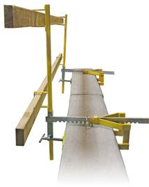 Parapet Clamp - Temporary Guardrail System
