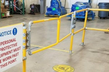 Double-Wide Safety Gate