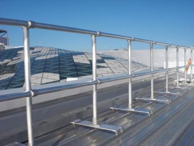 Metal Rooftop Railings and Guardrails