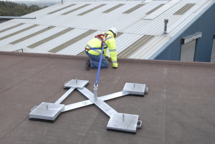 Need a Fall Protection Anchor that Won't Penetrate the Roof?