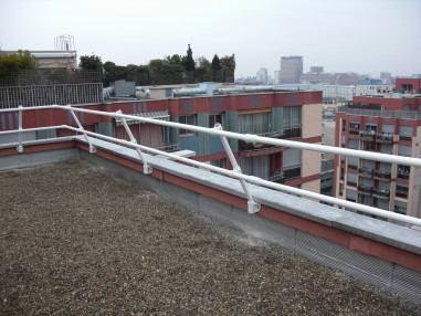 Installing Permanent Parapet Railings Just Got Easier