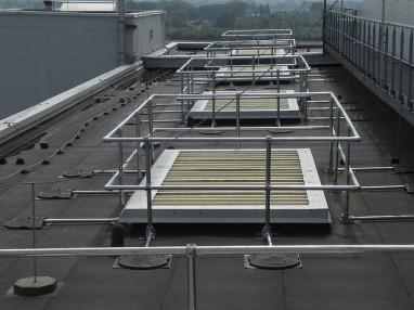 Ventilation Shaft Guardrail