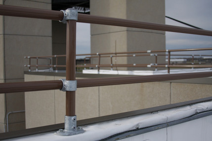 Rooftop Parapet Railing for Rochester ATCT [Case Study]
