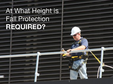 At What Height is Fall Protection Required in 2020?