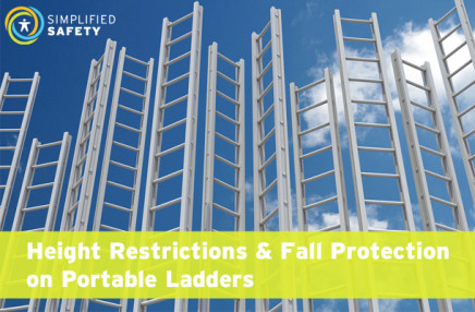 Height Restrictions & Fall Protection on Portable Ladders