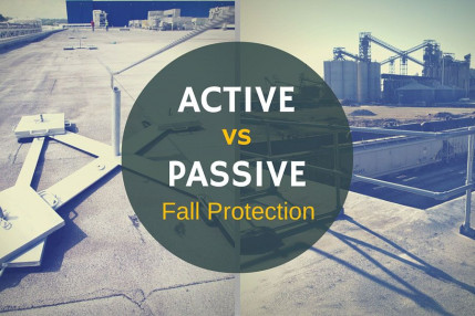 Active vs. Passive Fall Protection Systems