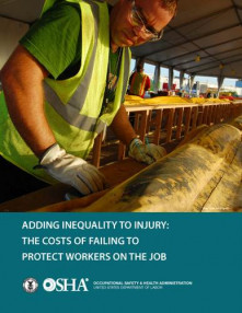 OSHA's Adding Inequality to Injury – Not What We Thought!