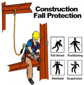 4 Different Types of Fall Protection for the Construction Industry