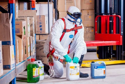 How to Clean and Disinfect Your Safety Equipment