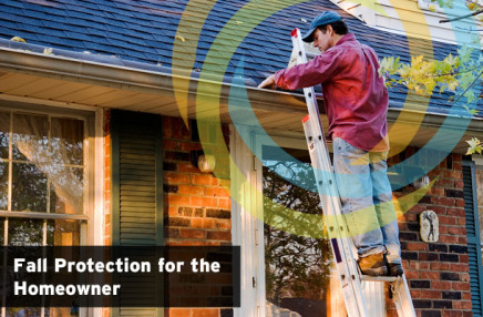 Fall Protection Tips for the Homeowner