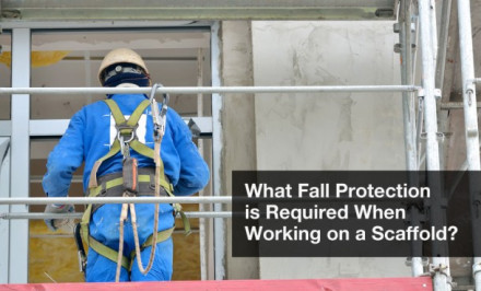 What Fall Protection is Required When Working on a Scaffold in 2018?