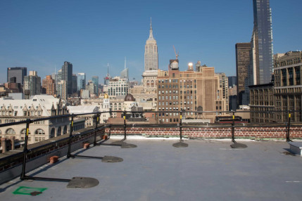 Roof Railing in NYC -  Protecting a Historic Rooftop in New York City