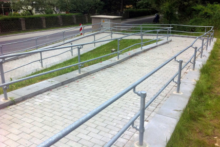 When does my walkway need an ADA compliant handrail?