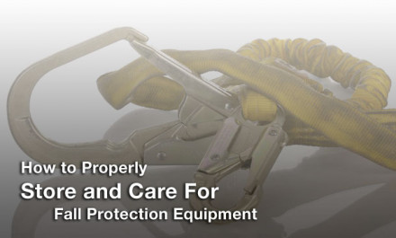 How to Properly Store and Care for Fall Protection Equipment