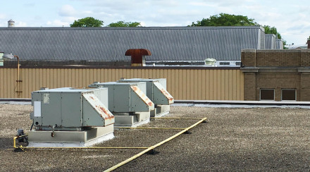 HVAC Units on Rooftop