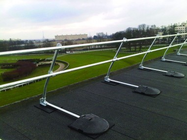 Are You Choosing the Right Rooftop Railing Solution?