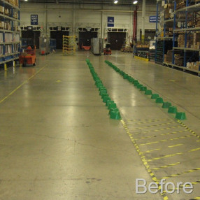 Warehouse Walkway Safe Walking Area [Case Study]