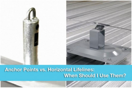 Anchor Points vs. Horizontal Lifelines: When Should I Use Them?