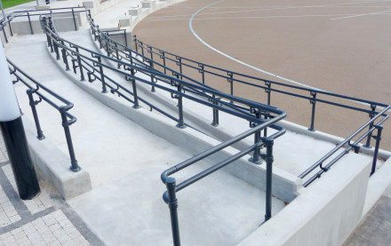 Build Cost Effective ADA Handrails Efficiently without Welding