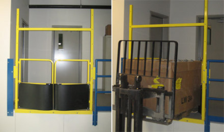 Access a Mezzanine Safely: Mezzanine Gates and Platform Gates