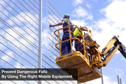 Prevent Dangerous Falls By Using The Right Mobile Equipment