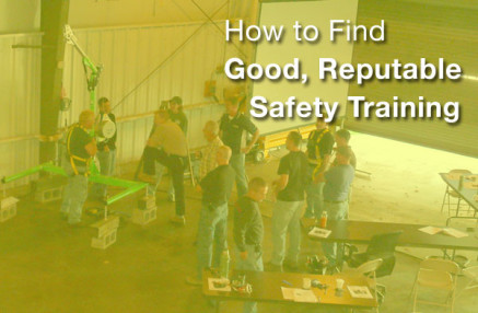 How to Find Good, Reputable Safety Training