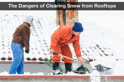 The Dangers of Clearing Snow from Rooftops