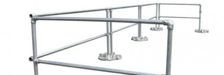 Case Study: Specialized Solutions – Guardrails for Corrosive Environment