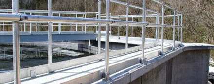 Durable & Cost Effective Railing for the Water Industry