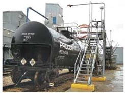 Railcar & Truck Loading Fall Protection