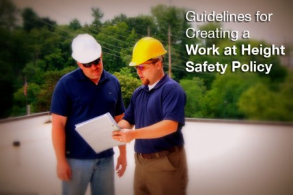 Guidelines for Creating a Work at Height Safety Policy