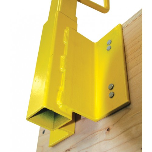 Metal Construction Guardrail System Construction Railing