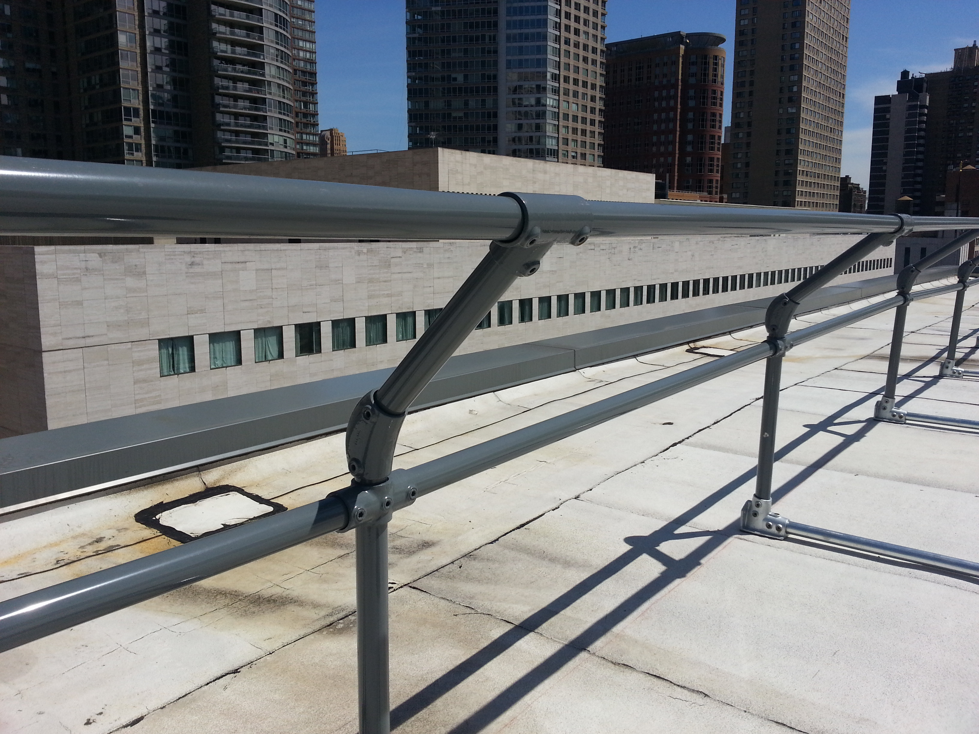 Railing Built With Fittings Vs Fabricated Pipe Railing