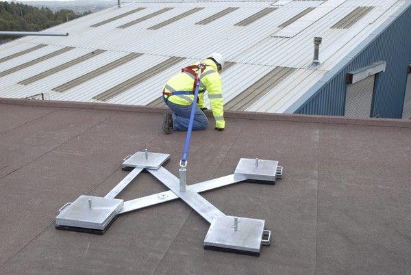 Weightanka® - Deadweight Roof Anchor System