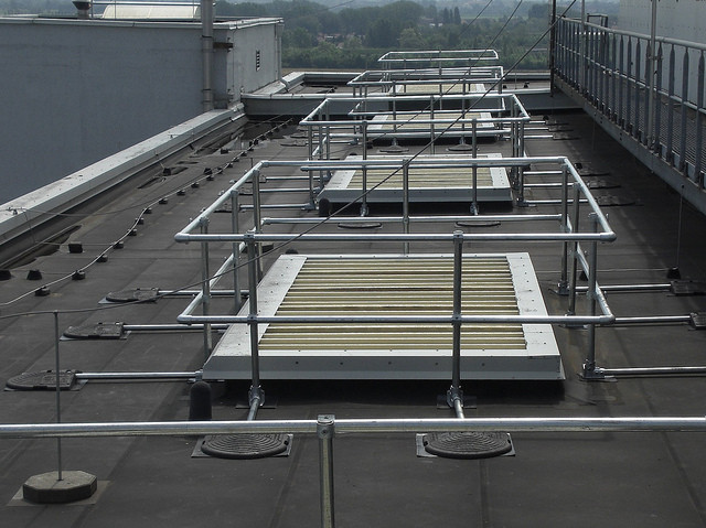 Ventilation Shaft Guardrail Fall Protection Blog