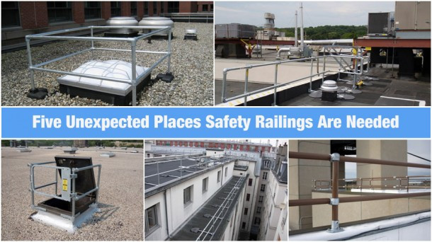 Five Unexpected Places Safety Railings Are Needed Fall